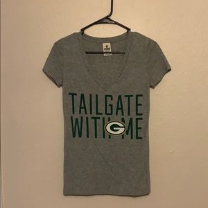 PINK brand Greenbay Packers tee